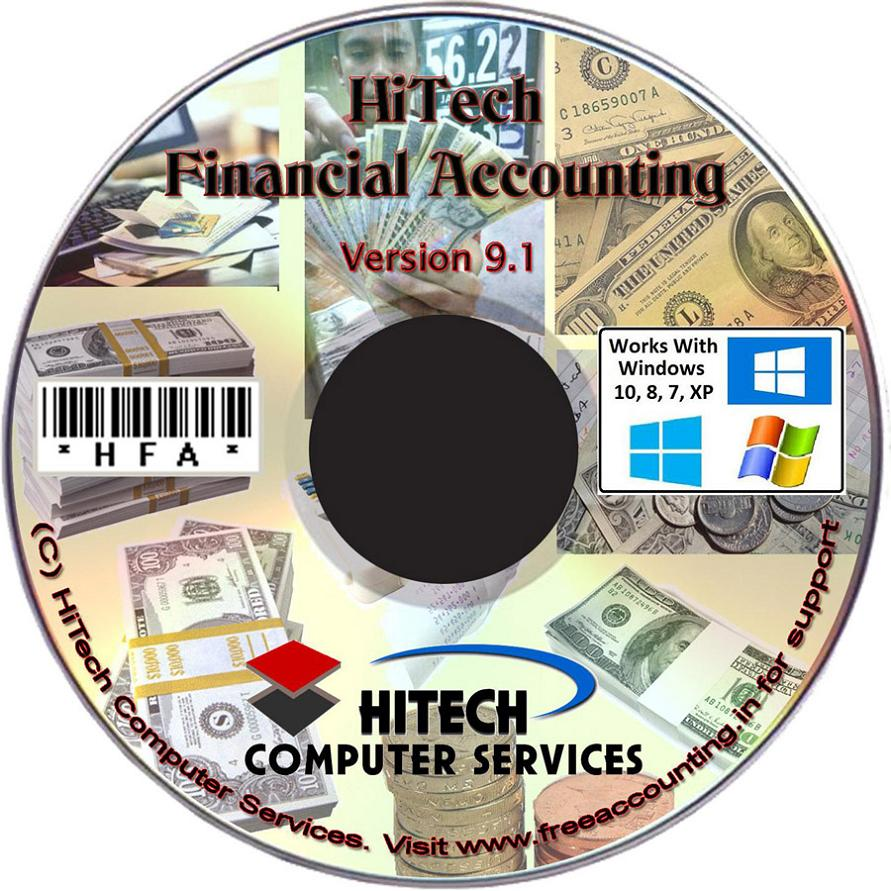 Financial Acounting Software CD